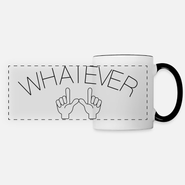 Whatever Hand - Panoramic Mug