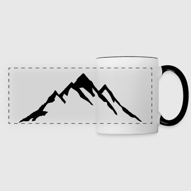Mountain, Mountains - Panoramic Mug