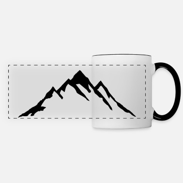 Mountains Mountain, Mountains - Panoramic Mug