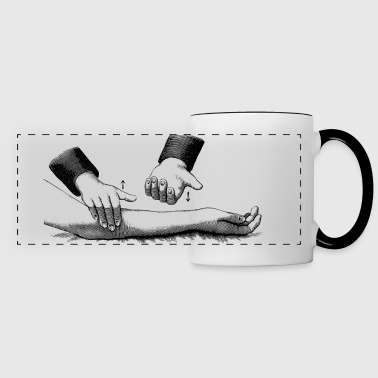 arm-massage - Panoramic Mug