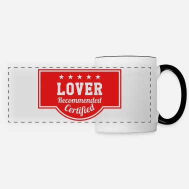 Romantic Joke Darling Lover - Recommended - Certified - Panoramic Mug