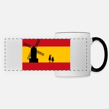 Don Quijote Don Quixote - Panoramic Mug