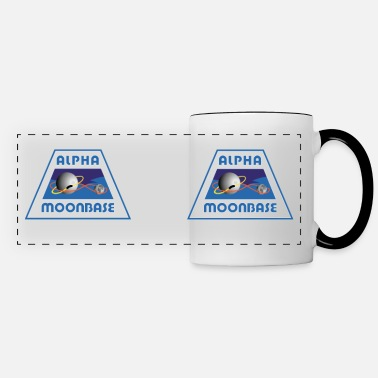 Moonbase Moonbase Alpha Crest - Panoramic Mug