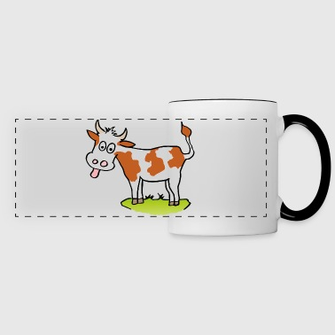 funny cow - Panoramic Mug