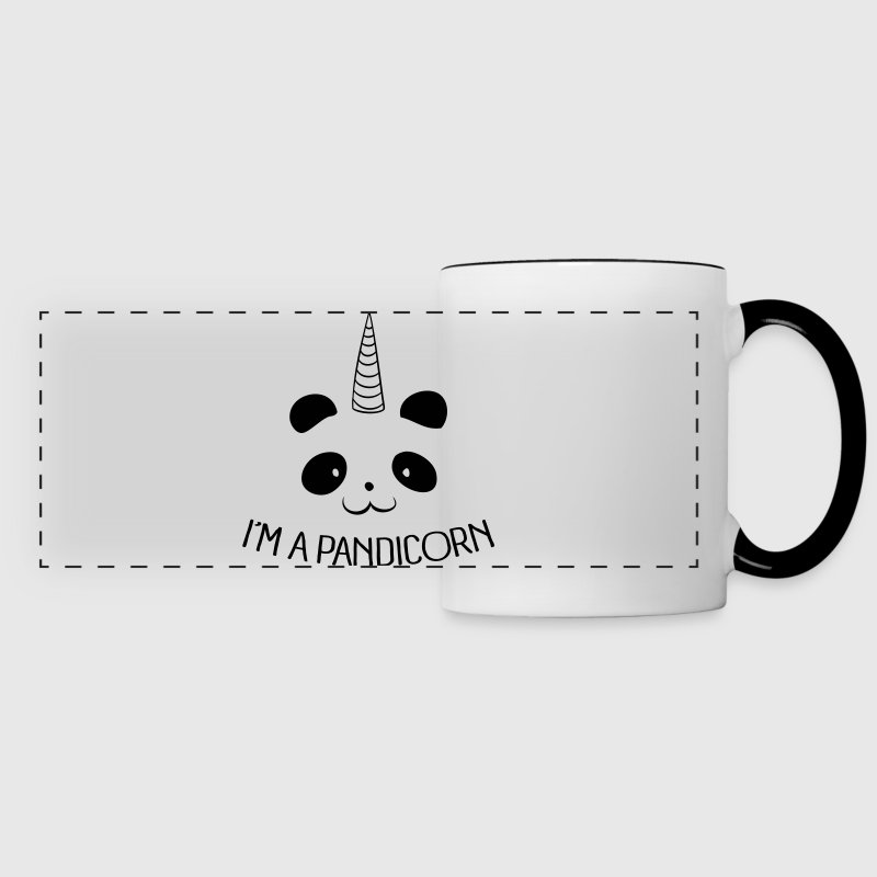I'm a Pandicorn - Panoramic Mug