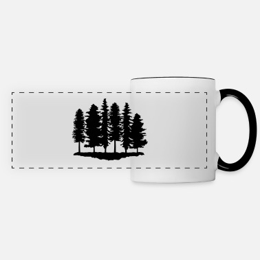 Trees Forest, Trees, Tree - Panoramic Mug