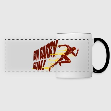League Run Barry Run - Panoramic Mug