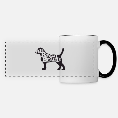 Girl the beagle is here - Panoramic Mug