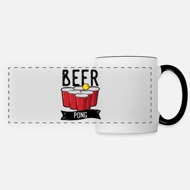 Drinking Game Beer Pong Team Drinking Game Friends - Panoramic Mug