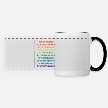 Be Kind Kindness, Kindness Be kind, Kind - Panoramic Mug
