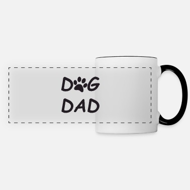 Paws Dogs dog paw - Panoramic Mug