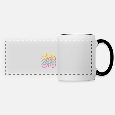 Feeling Retro Vintage Cycling - Panoramic Mug