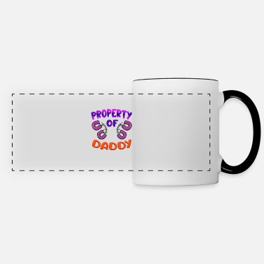 Ageplay PROPERTY OF DADDY DDLG Funny Ageplay Humor - Panoramic Mug