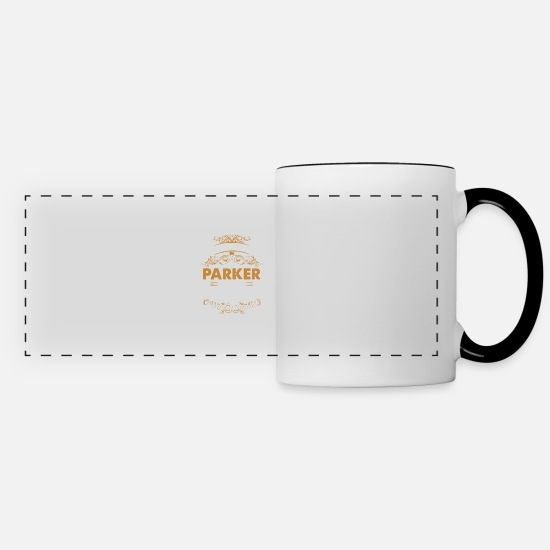 Parker Mugs & Drinkware - It's a parker thing you wouldn't understand - Panoramic Mug white/black