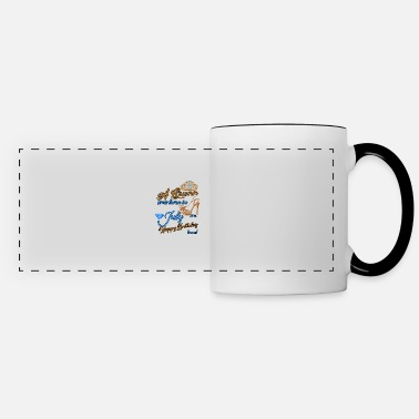 Born A Queen Was Born In July 24th Happy Birthday - Panoramic Mug