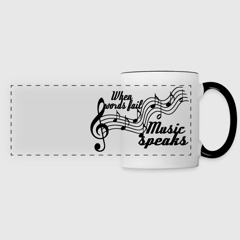 When words fail... - Panoramic Mug