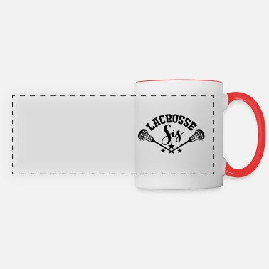 Stick Lacrosse Goalie Lax Lacrosse-Player Gift Coach - Panoramic Mug