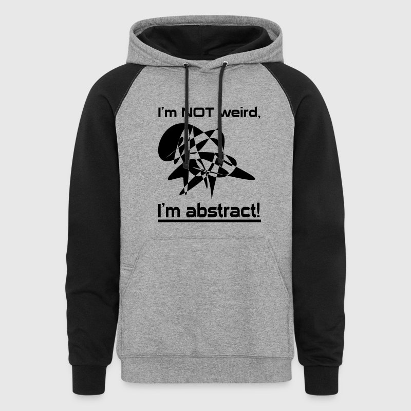 I am abstract - Colorblock Hoodie