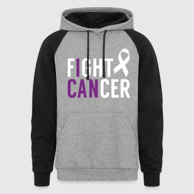 I Can Fight Cancer - Colorblock Hoodie