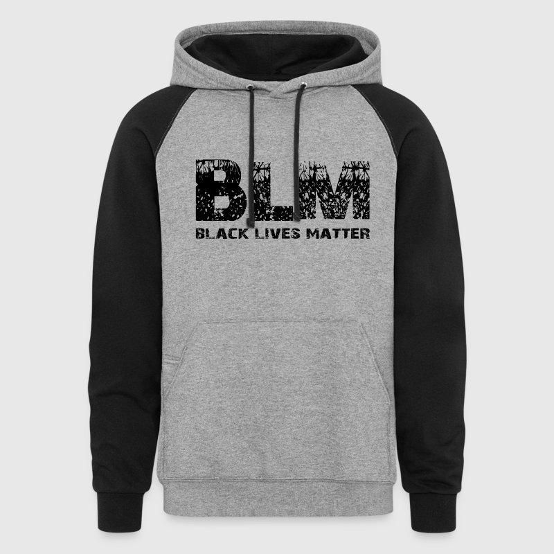 BLM Black Lives Matter - Colorblock Hoodie