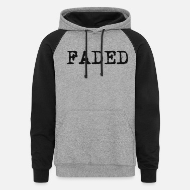 Faded FADED - Colorblock Hoodie
