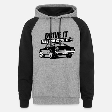 Drive Drive it - Fastback 2 - Colorblock Hoodie