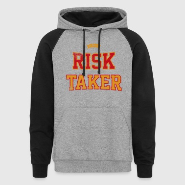 The Risk Taker - Colorblock Hoodie