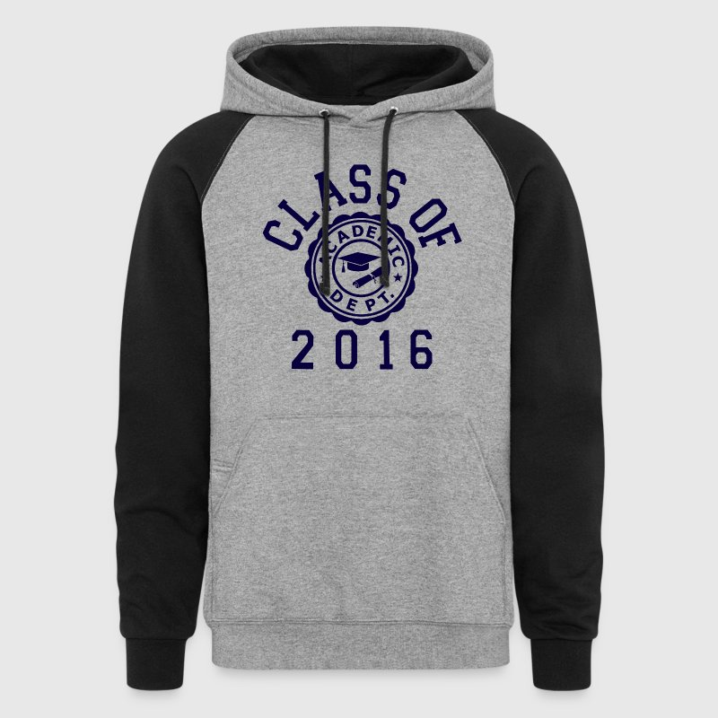 Class Of 2016 - Colorblock Hoodie