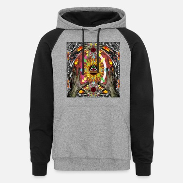 New Age NEW AGE CONFUSION 1 - Colorblock Hoodie