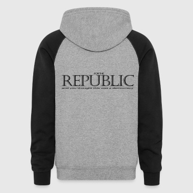 For the Republic - Colorblock Hoodie