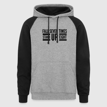 Stand up - Colorblock Hoodie