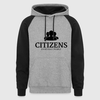 Citizens Sweaters - Colorblock Hoodie