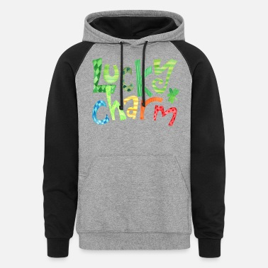 Lucky Charm Lucky Charm - Unisex Colorblock Hoodie
