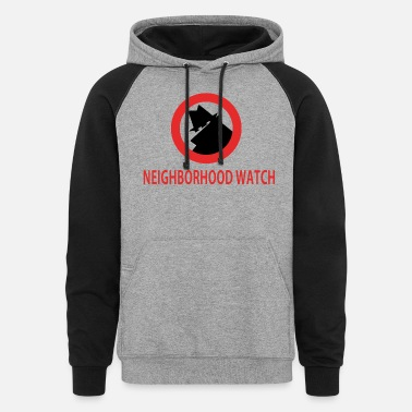 Neighborhood Neighborhood Watch - Unisex Colorblock Hoodie