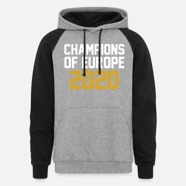 European Champion Champions of Europe 2020 - Unisex Colorblock Hoodie