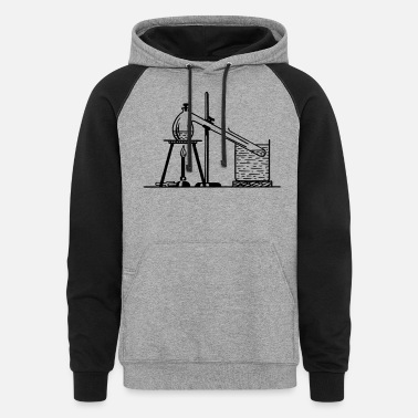 Liquor Distillation 2 - Unisex Colorblock Hoodie