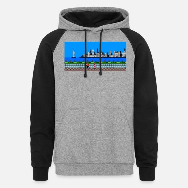 Punch Punch Out - Unisex Colorblock Hoodie