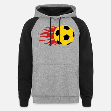 Goal burning ball - Unisex Colorblock Hoodie