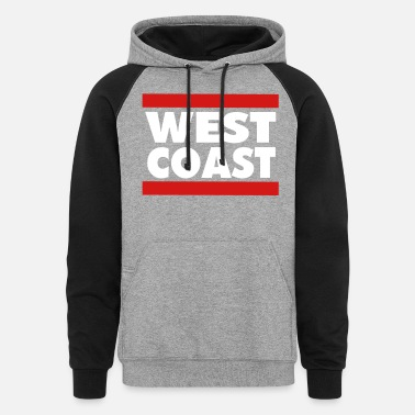 West Coast WEST COAST - Unisex Colorblock Hoodie