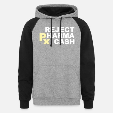 Pay Attention Flipside Pharma - Unisex Colorblock Hoodie