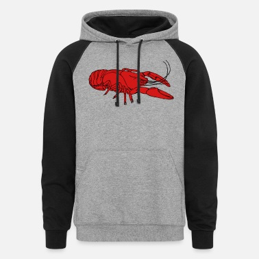 Crayfish crayfish - Unisex Colorblock Hoodie