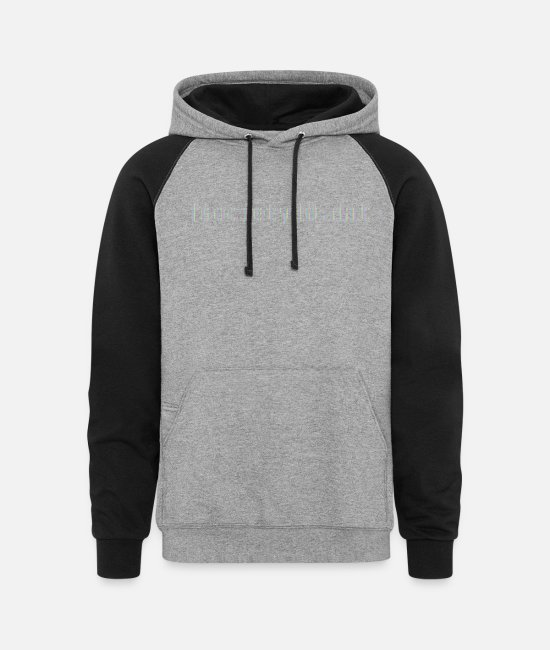 TV Hoodies & Sweatshirts - fsociety00.dat - Unisex Colorblock Hoodie heather gray/black