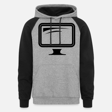 Monitoring monitor - Unisex Colorblock Hoodie