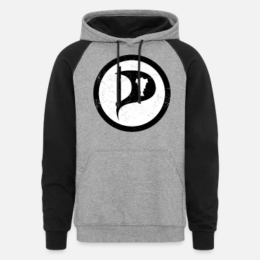 Pirate Party Iceland Pirate Party - Unisex Colorblock Hoodie