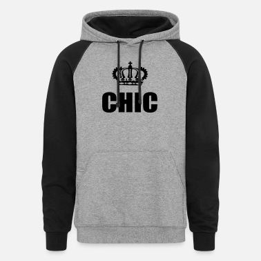 Chic CHIC - Unisex Colorblock Hoodie