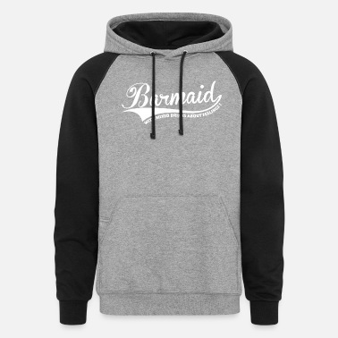 Barmaid Barmaid with mixed drinks - Unisex Colorblock Hoodie
