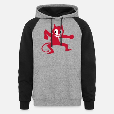 Devil Male devil - Unisex Colorblock Hoodie