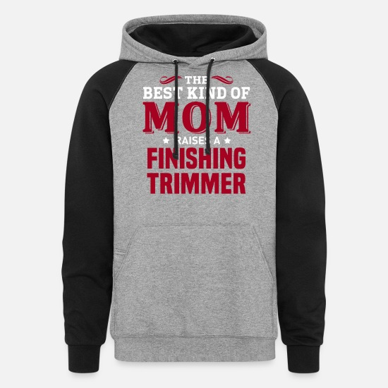 Mummy Hoodies & Sweatshirts - Finishing Trimmer - Unisex Colorblock Hoodie heather gray/black