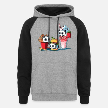Meal Combo Meal - Unisex Colorblock Hoodie