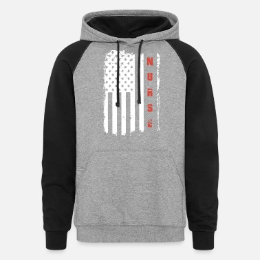 Week american nurse - Unisex Colorblock Hoodie